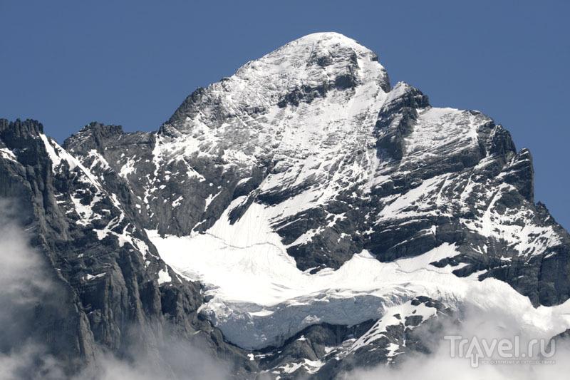 Скала в Швейцарии / Фото из Швейцарии