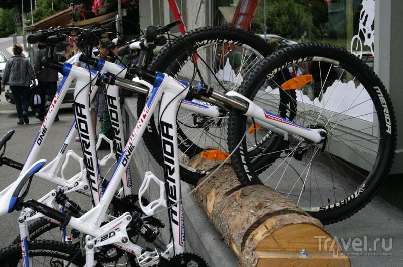 Велосипеды в Швейцарии / Фото из Швейцарии