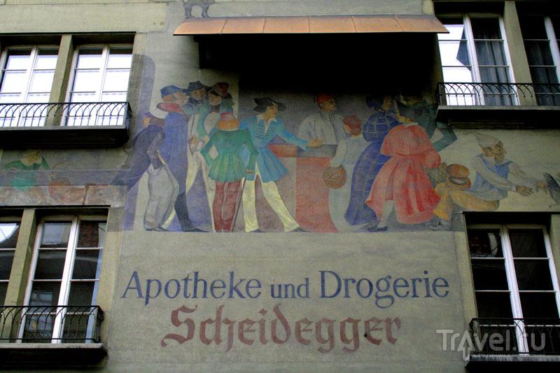 Старинная аптека в Берне / Фото из Швейцарии