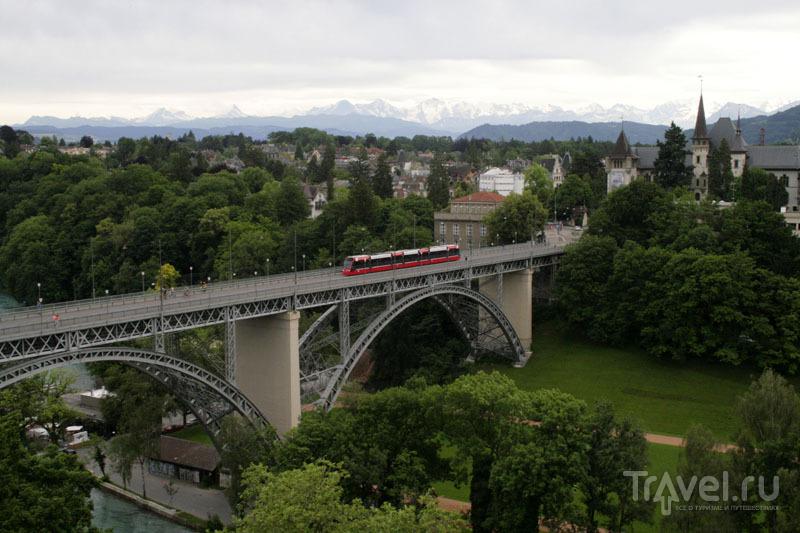 Мост в Берне / Фото из Швейцарии