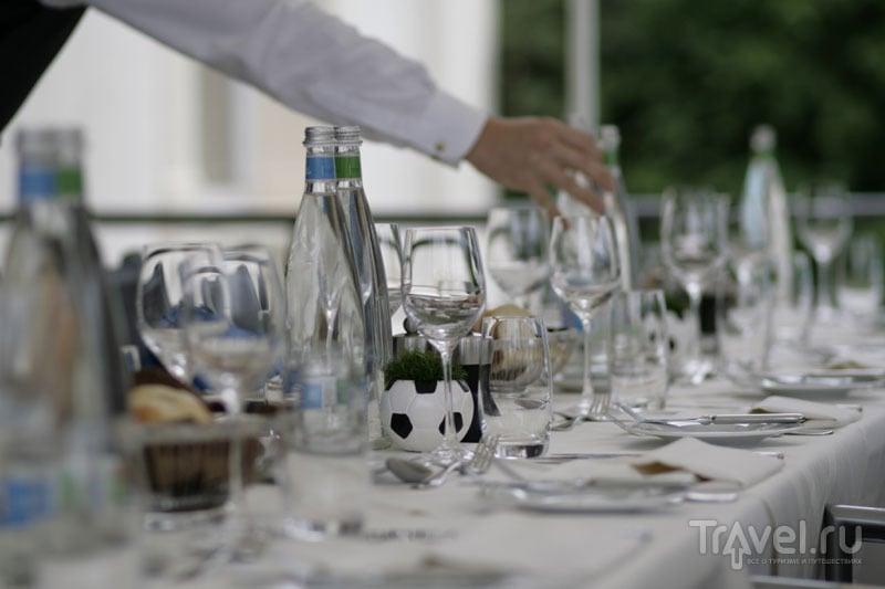 Ужин в гостинице Grand Hotel des Bains 4* / Фото из Швейцарии