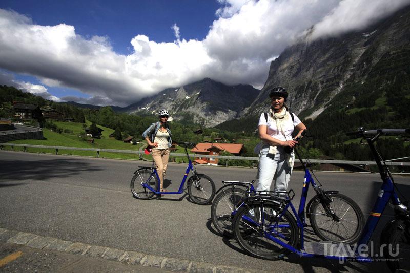 Троттибайки в Швейцарии / Фото из Швейцарии