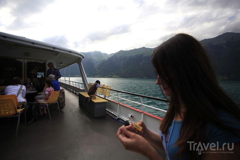 На теплоходе в Швейцарии / Фото из Швейцарии