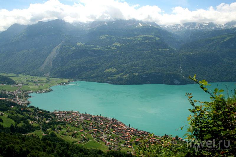 Озеро в Швейцарии / Фото из Швейцарии