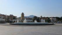 Фонтан на центральной площади / Турция