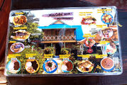 Меню ресторана / Колумбия