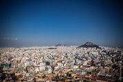 Вид на Афины / Греция