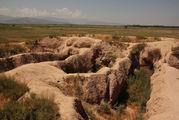 Археологическая зона городища / Киргизия
