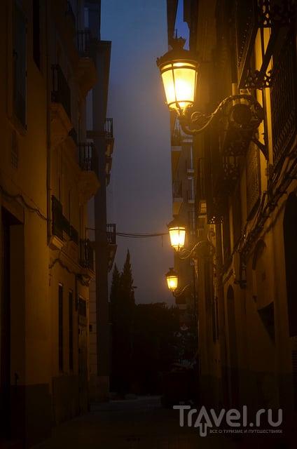Вечерний город / Испания