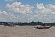 Лодка для катания туристов / Вьетнам