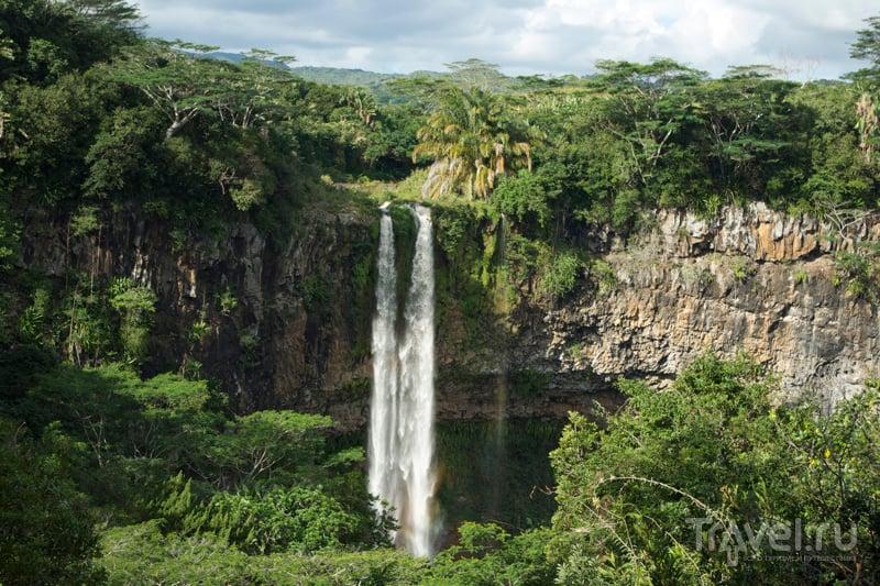 Водопад Шамарель, Маврикий / Фото с Маврикия