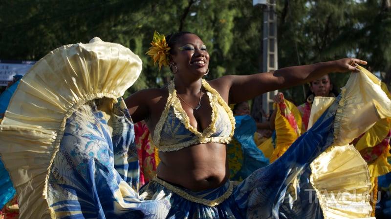 Во время карнавала Flic en Flac на Маврикии / Фото с Маврикия