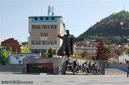 Памятник на площади / Македония