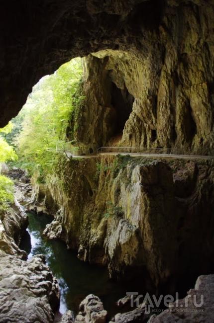 Выход из ущелья / Словения