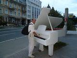 Рояль на улице / Украина