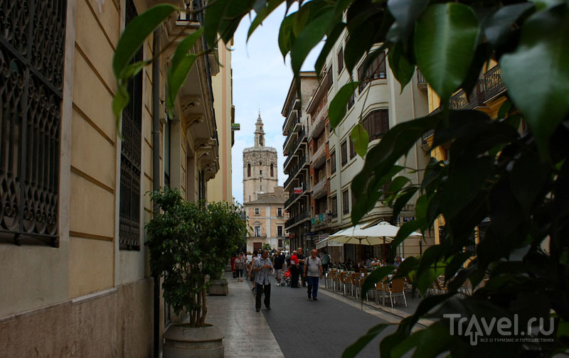 Улица в Валенсии, Испания / Фото из Испании