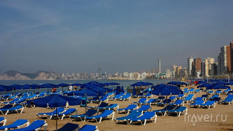 Пляж в Бенидорме, Испания / Фото из Испании