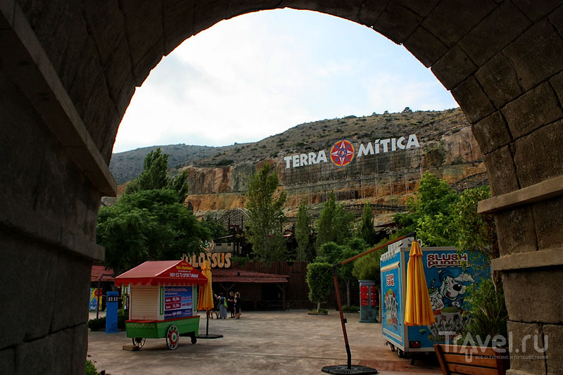 Парк Terra Mítica в Испании / Фото из Испании
