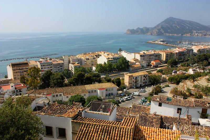 Вид на Альтею с высоты, Испания / Фото из Испании