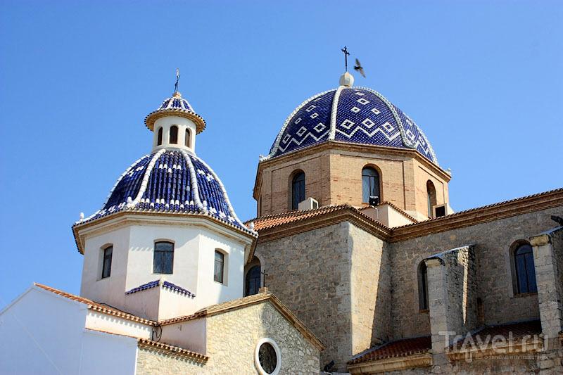 Церковь в Альтее, Испания / Фото из Испании