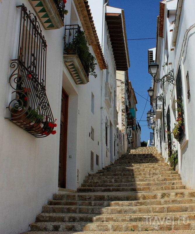 Лестница в Альтее, Испания / Фото из Испании
