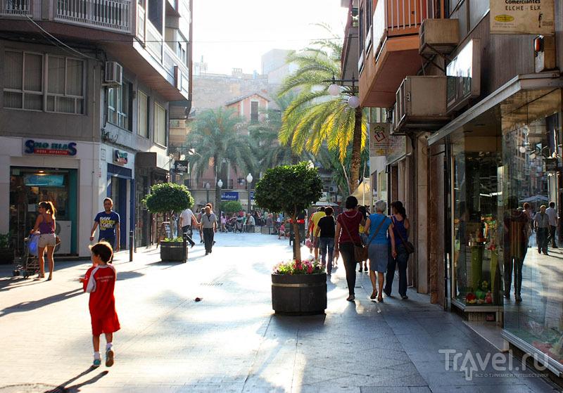На улице в Эльче, Испания / Фото из Испании