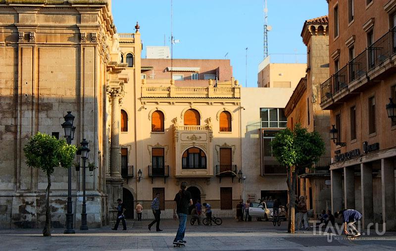 В центре города Эльче, Испания / Фото из Испании