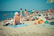 Пляж Светлогорска / Россия