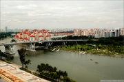Вид на мост / Сингапур