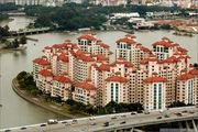Жилой квартал на берегу / Сингапур