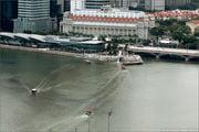 Вид на набережную / Сингапур