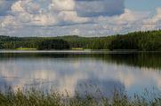 Облака над озером / Финляндия