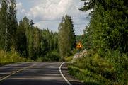 Дорожный знак / Финляндия
