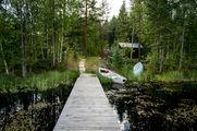 Лодки на берегу / Финляндия