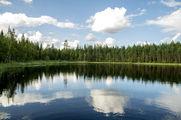 Отражение в воде / Финляндия