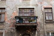 Стена и балкон / Польша