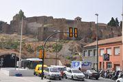 Малага. Двухсторонний въезд в подземный паркинг / Испания