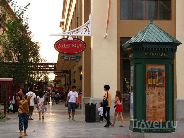 Торговый центр Asiatique в Бангкоке, Таиланд / Фото из Таиланда