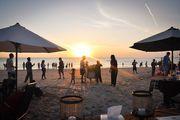 Вечером на пляже / Индонезия
