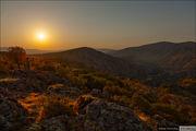 Рассвет над горами / Болгария