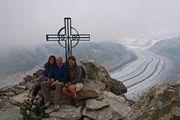 Фотография с друзьями / Швейцария