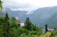 Домик заслоняет озеро / Австрия