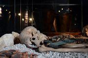 Симпатичный череп с костями / Австрия