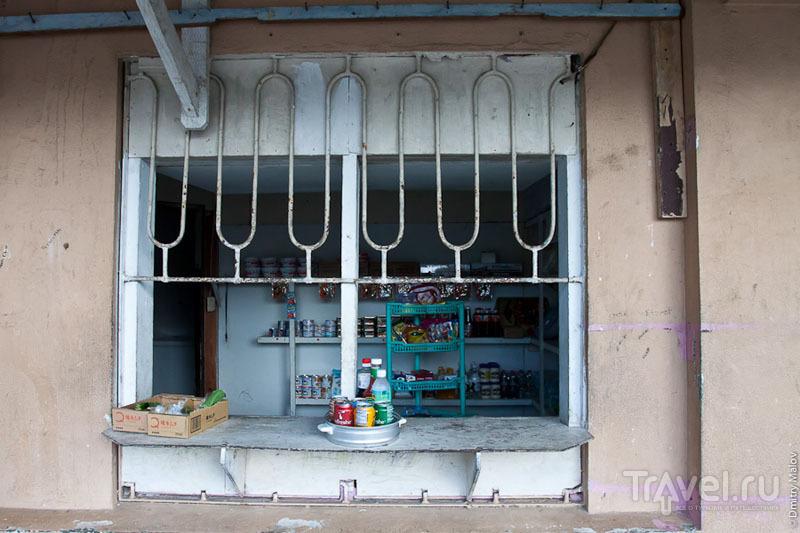 Торговый ларек в Колониа, Микронезия / Фото из Микронезии
