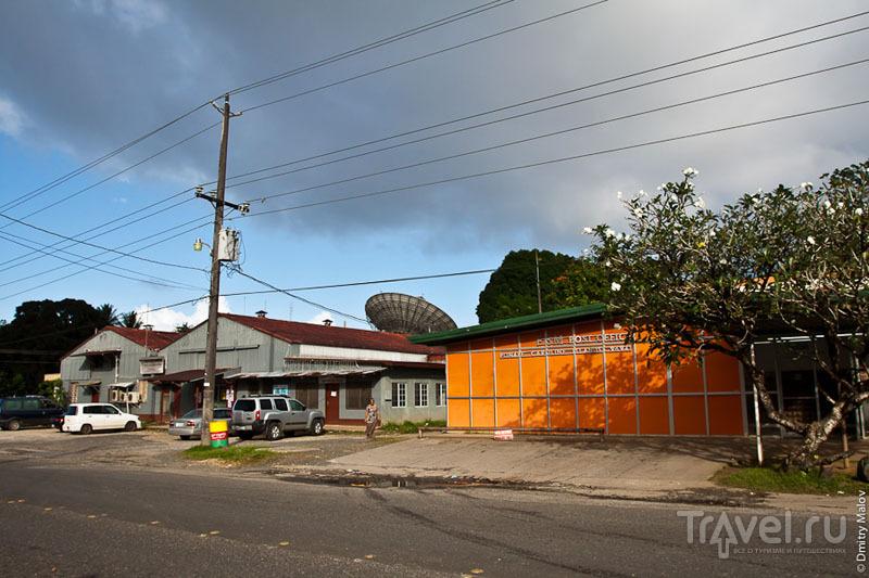 Здание почтового офиса в Колониа, Микронезия / Фото из Микронезии