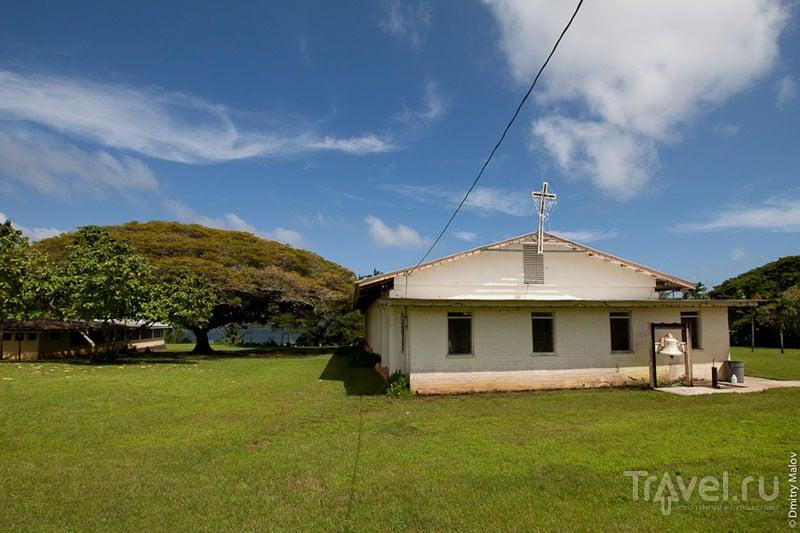 Церковь на острове Понпеи, Микронезия / Фото из Микронезии