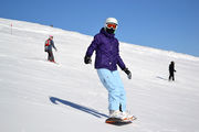 Автор на сноуборде / Андорра