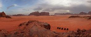 Палаточный лагерь для туристов / Иордания
