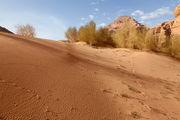 Песчаные барханы / Иордания