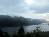 Вид на озеро / Чили